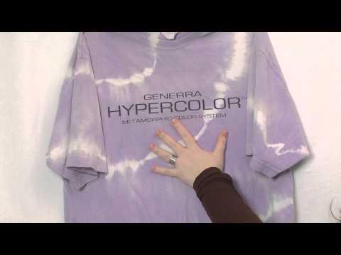 Smart Textiles - Thermochromic paint