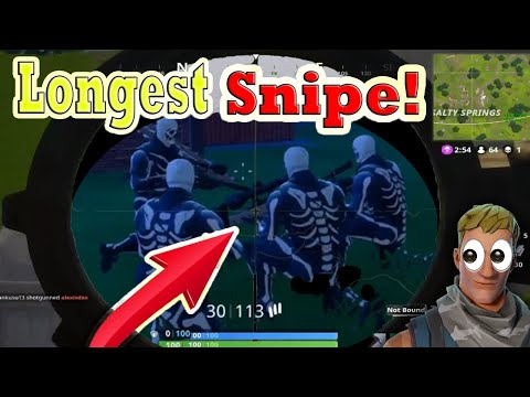 *New* Fortnite Funny Epic Fails And Wtf Wins Best Moments Longest Snipe Shot Epic Loot #1