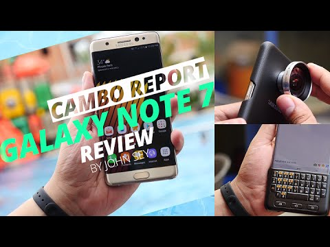 Galaxy Note 7 Review 4K By John Sey (Cambo Report)