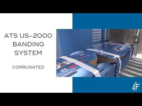 Corrugated ATS US 2000 TRS SW L3 Automated Banding System