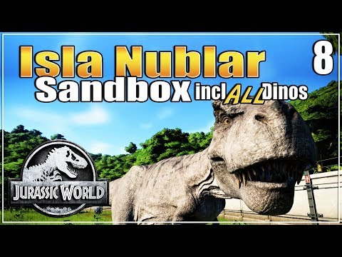 Let's build the Ultimate Dino Park | with ALL dinosaurs | Sandbox | Jurassic World Evolution | Ep. 8