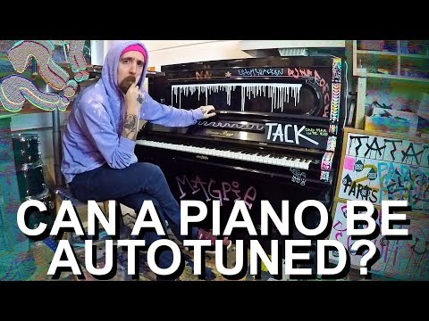 Autotune A Out Of Tune Piano Sounds Really Cool