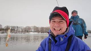 Что поймали за 2 дня на реке Рыбалка в глухозимье ВихровLIFE