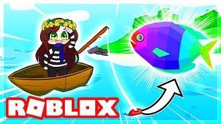 LE PLUS BEAU POISSON DU MONDE !   Roblox Fishing Empire Simulator