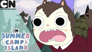 Summer Camp Island | Hedgehog Wants To Learn Magic | Cartoon Network UK