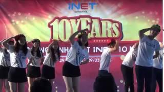 iNET tổ chức sinh nhật lần thứ 10