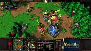 Infi(HU) vs Fly(ORC) - WarCraft 3 Frozen Throne - RN4201