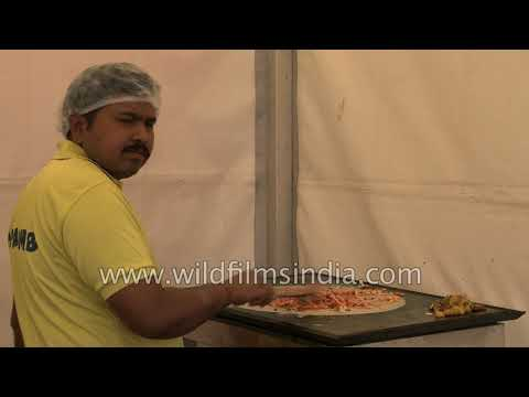 Dosa making in India