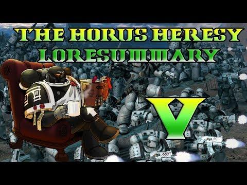 30K Lore, The Horus Heresy Lore Breakdown, Galaxy In Flames