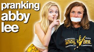 ABBY LEE CAN'T TALK FOR 24 HOURS *funny pranks*