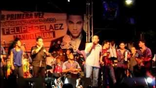 Felipe Peláez y Manuel Julián en Ciudad Ojeda Venezuela.