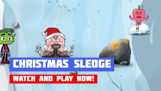 Cartoon Network: Christmas Sledge · Game · Gameplay