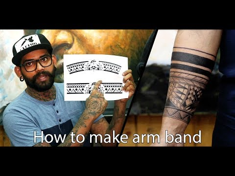 How to make Arm Band | Tattoo Tutorial - Part - 9
