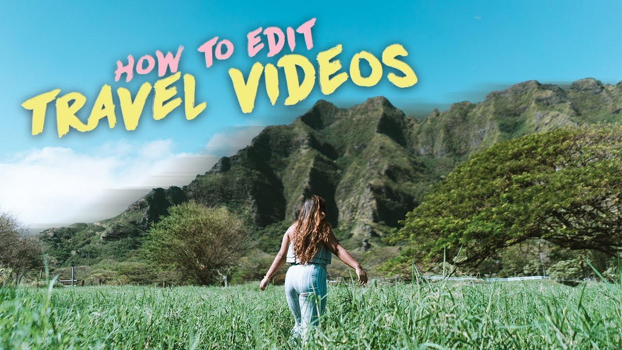How to edit TRAVEL VIDEOS! (Organizing, Transitions, Music, + MORE)