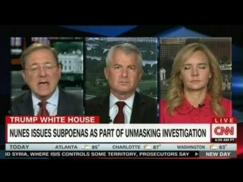 CNN Panel discussion over Rep Devin Nunes at center of new controversy