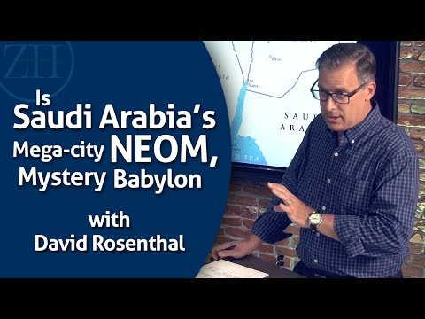 Is Saudi Arabia's recently announced mega-city NEOM, connected to Mystery Babylon?