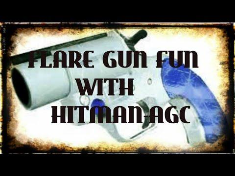 GTA 5 ONLINE FLARE GUN FUN
