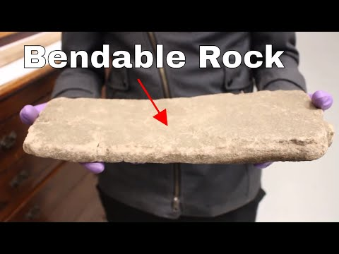 How to Bend a Rock