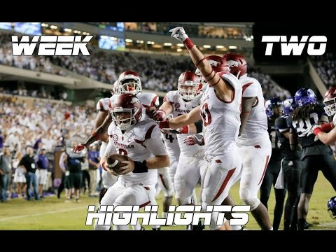 College Football Week Two Highlights 2016-17 ᴴᴰ