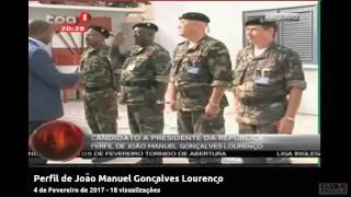 Perfil de João Manuel Gonçalves Lourenço futuro patrono do MPLA