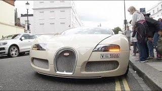 Londres veut en finir avec les nuisances sonores des voitures de luxe