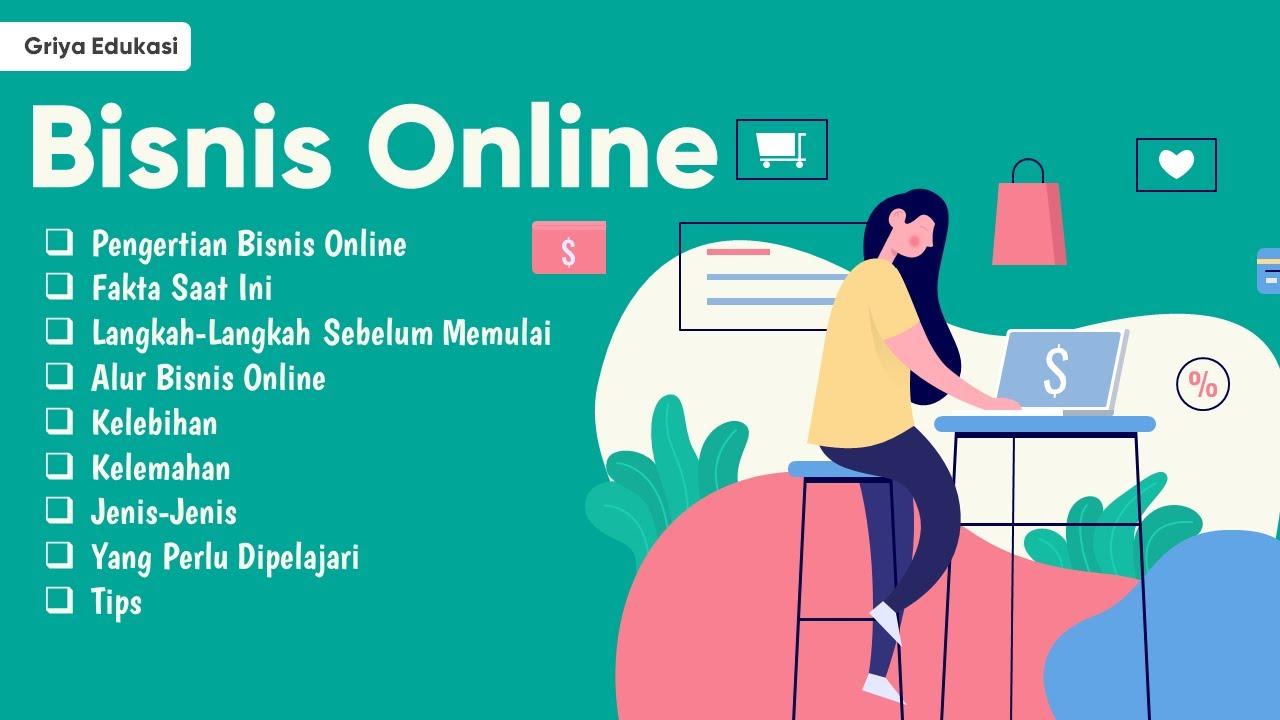 Materi PPT Tentang bisnis Online, Pengertian, Alur ...