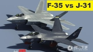 F-35 Joint Strike Fighter vs Shenyang J-31