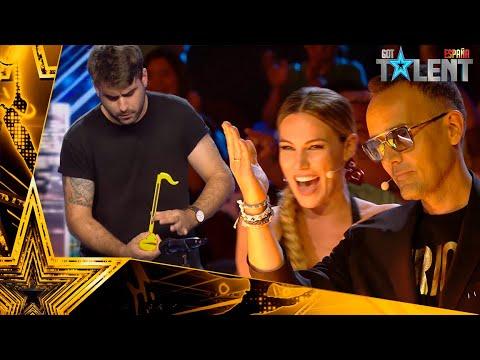 El OTAMATONE que ha conseguido el PASE DE ORO de Risto   Audiciones 1   Got Talent España 2021
