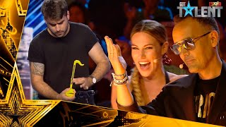 The OTAMATONE that has obtained the GOLDEN PASS of Risto | Auditions 1 | Spain's Got Talent 2021