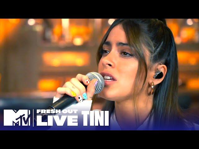 "TINI Performs ""Un Beso en Madrid""   #MTVFreshOut"