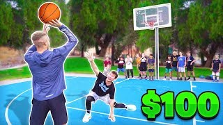 Download Score On Me, Win $100 vs Random People Basketball Mp3 and Videos