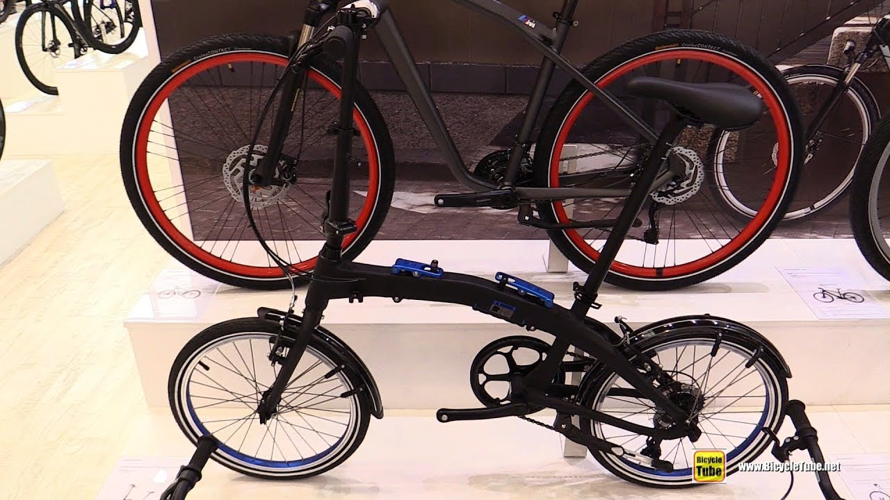 2019 bmw folding bike - walkaround - 2018 eurobike - youtube