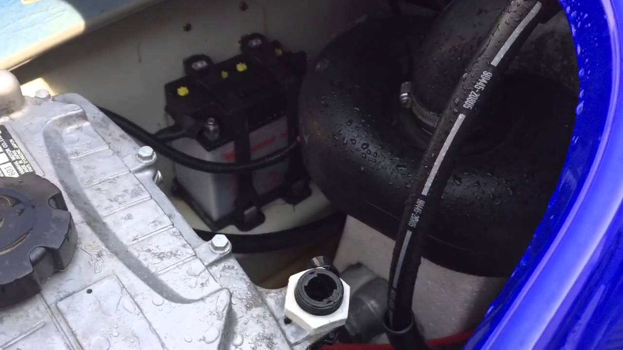 2009 Yamaha Waverunner won't start  YouTube