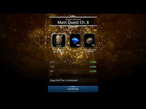 Darkness Rises Increase CP to 800k & Unlock Character Rank 8