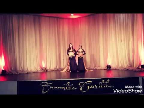 Lee \u0026 Angel - Belly Dance - 1° Lugar Dupla Moderna Amador ‐ Transcendence ‐ Encontro Curitiba 2017
