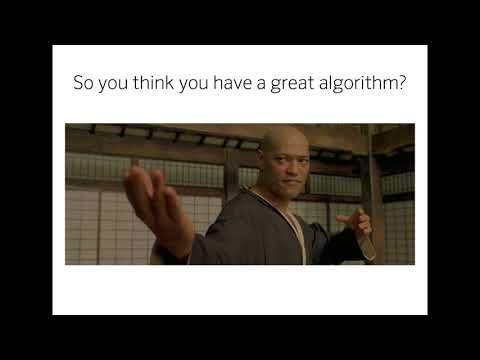 Making the Grade: A Look Inside the Algorithm Evaluation Process