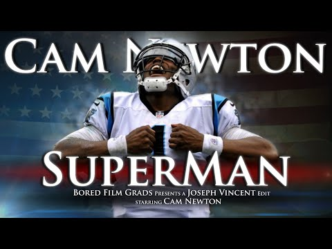 Cam Newton - Superman