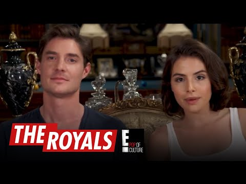 The Royals  Max and Genevieve Play the British Slang Game  E!