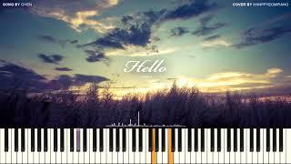 CHEN (첸) - 안녕 (Hello) [PIANO COVER]
