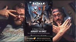 Midnight Screenings - Batman and Harley Quinn