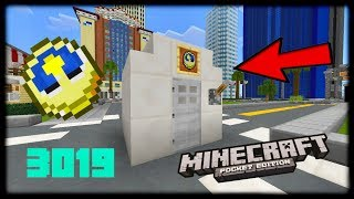 Minecraft PE - WORKING TIME MACHINE COMMANDS