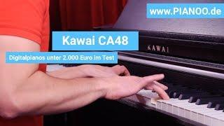 Digitalpiano für Einsteiger und Fortgeschrittene - Test: Kawai CA48