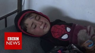Children caught in Syria