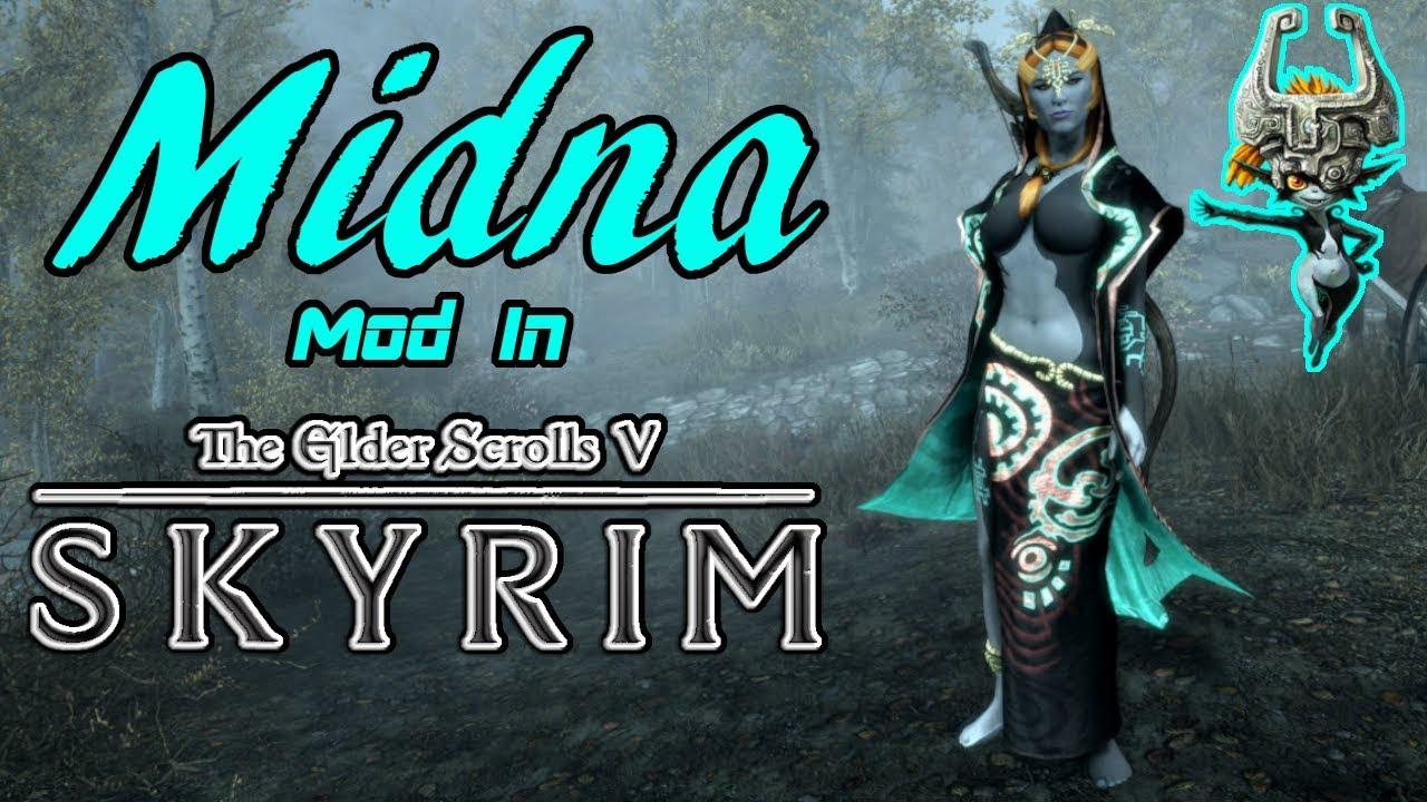 Midna Follower Mod in Skyrim (Xbox One)