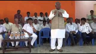 DK Shivakumar with PGR sindhia at kanakapura part 1