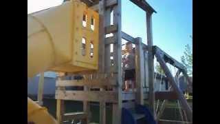Bulldog On Swing Set Part 2