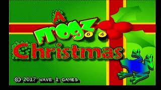 Frogz 64 Christmas for the Atari Jaguar CD by Second Opinion Games