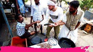 Fort Kochi INDIAN FOOD Tour - John Abraham Eggs, Masala Seafood & Attractions | Kerala, India