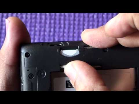 Lumia 520 : How to Insert SD and SIM Card