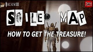 Infinity Blade 3: SOILED MAP - HOW TO GET THE TREASURE!